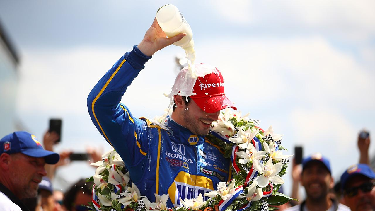 Alexander Rossi wins 100th Indianapolis 500_99768349-159532