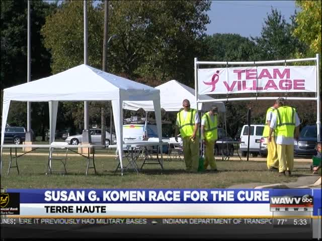 Race for the Cure 2016 in Terre Haute