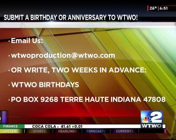 Birthdays and Anniversaries 12/28/16