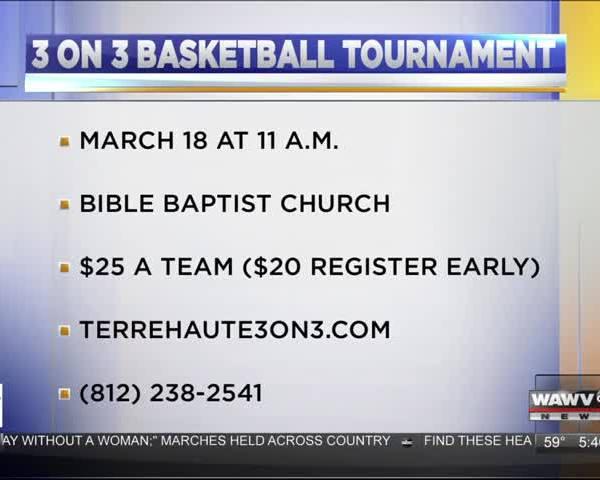 3 on 3 basketball 3/8/17