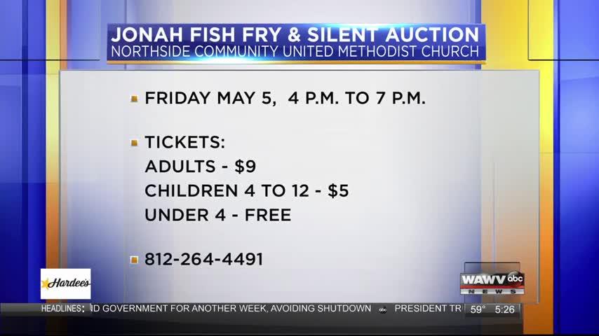 Jonah Fish Fry 4/28/17