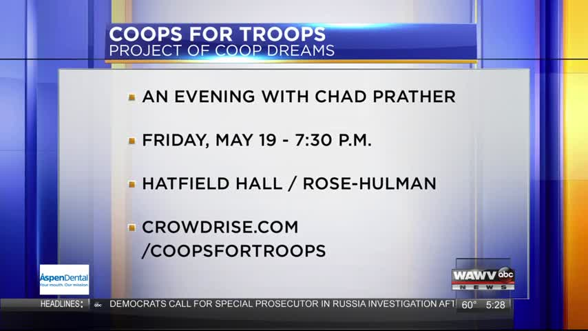 Coops for Troops 5/11/17
