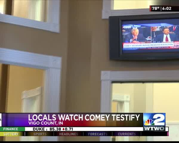 Comey Local Reaction 6-8-17