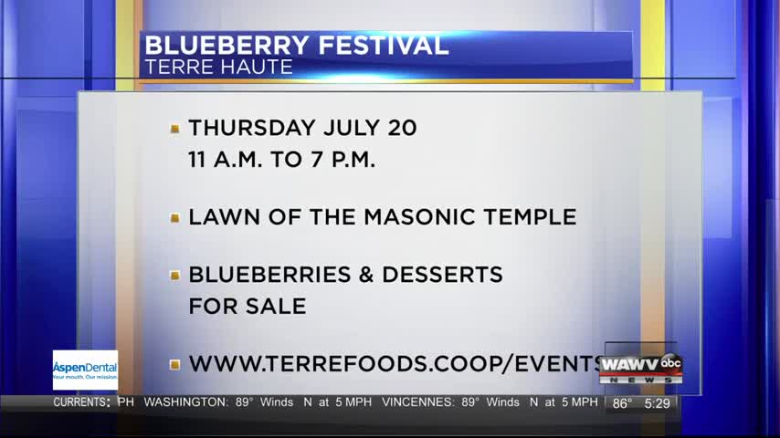 Live Guest: Blueberry Festival 7-18-17