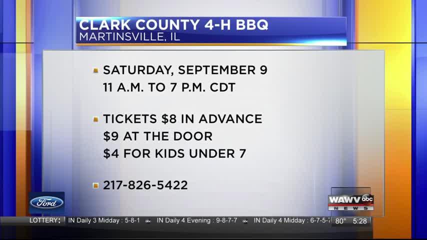 Clark Co. 4H BBQ 8-31-17