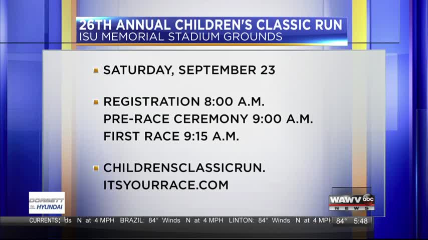Children's Classic Run 8-30-17