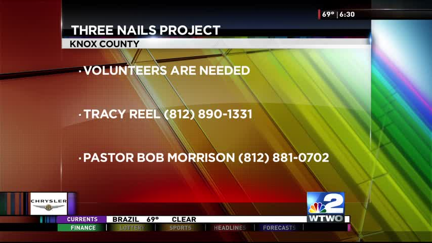 Three nails project 8-11-17