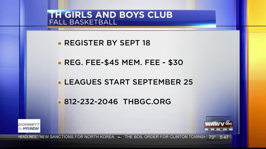 Boys and Girl  Club  9-11-17