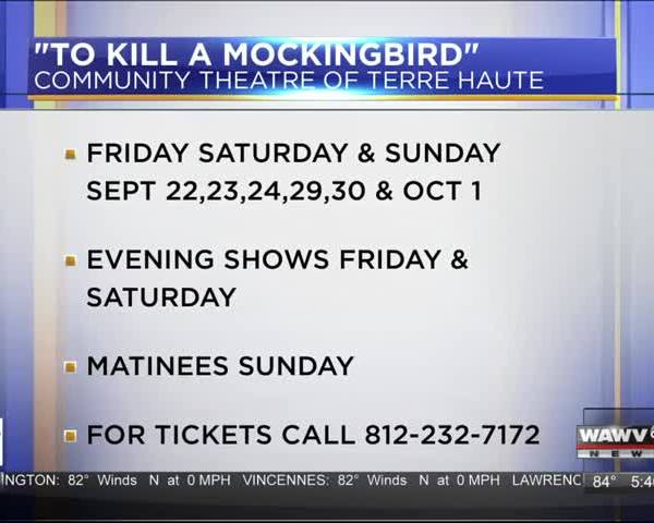 Live at Five Guest: To Kill A Mockingbird 9-19-17