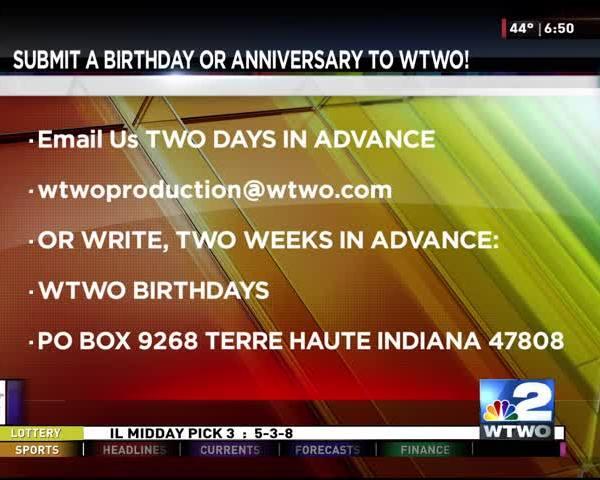 Anniversary and Birthdays 09-29-2017