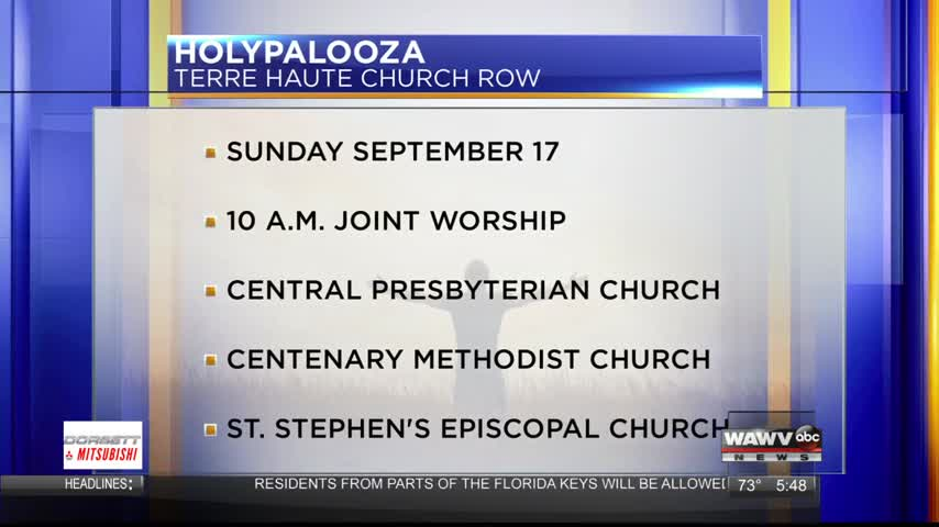 Live at Five Guest: HolyPalooza