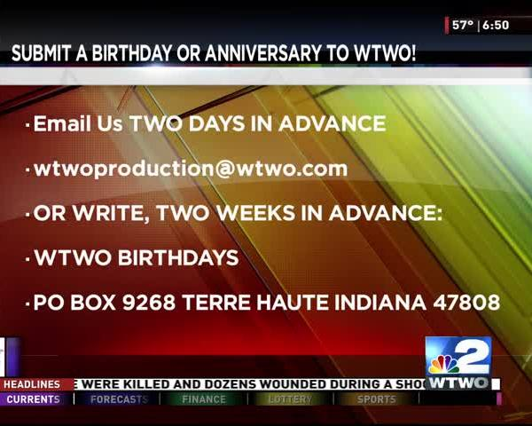 Birthdays 10-02-2017