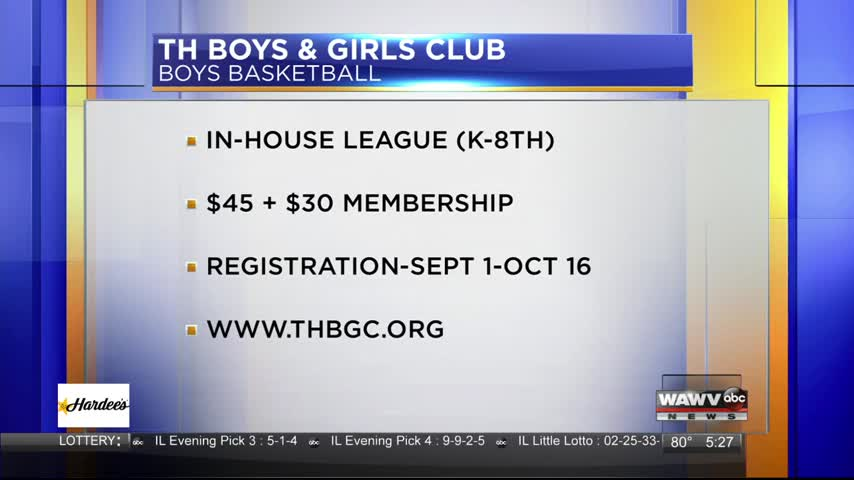 Live at Five Guest: Boys & Girls Club Basketball 10-2-17