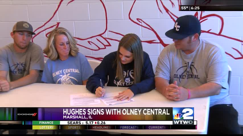 Hughes Signs with Olney