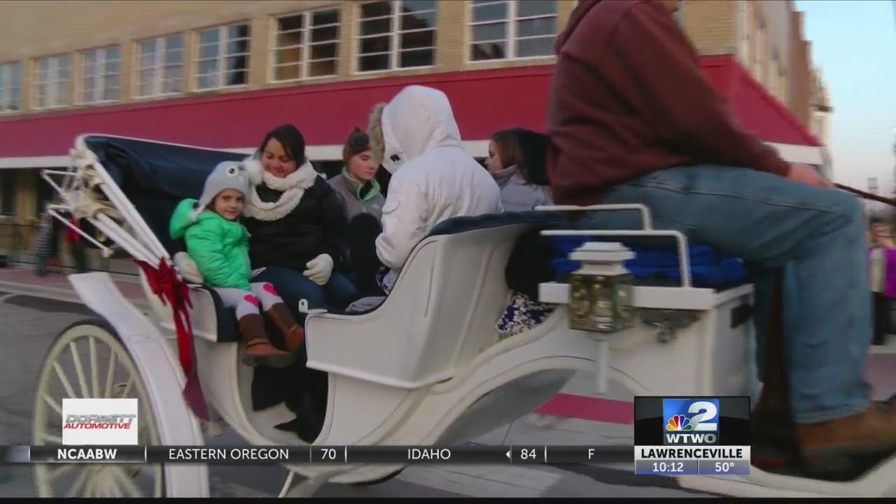 Carriage Rides on the Sullivan Square