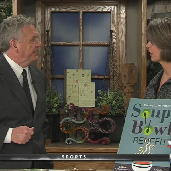 Live At Five Guest Soup Bowl Benefit 12418