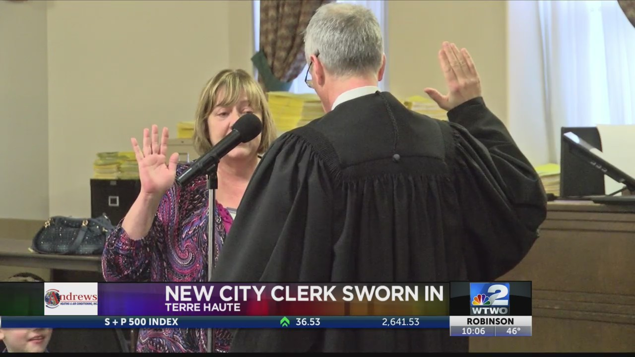 New City Clerk Sworn In