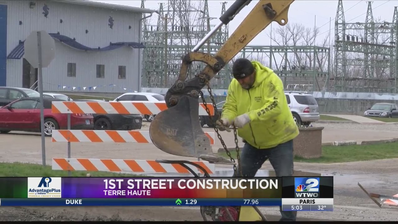 1st Street Work is About to Wrap Up