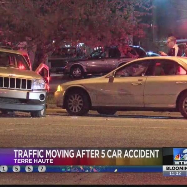 Five Car Accident