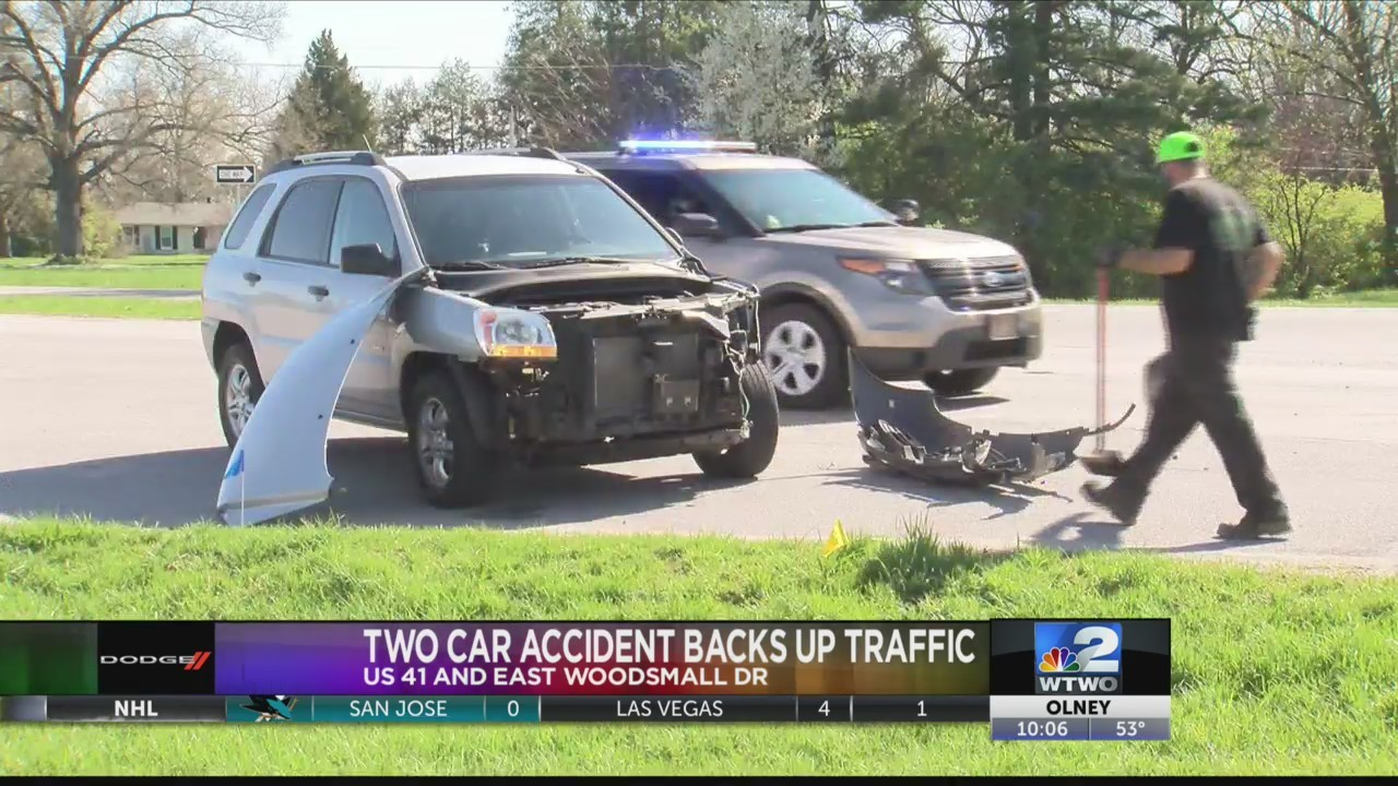 Two Car Accident on US 41