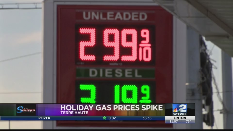 4th Gas Prices Up