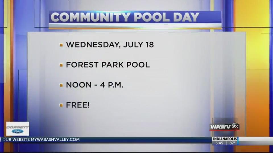 Community Pool Day
