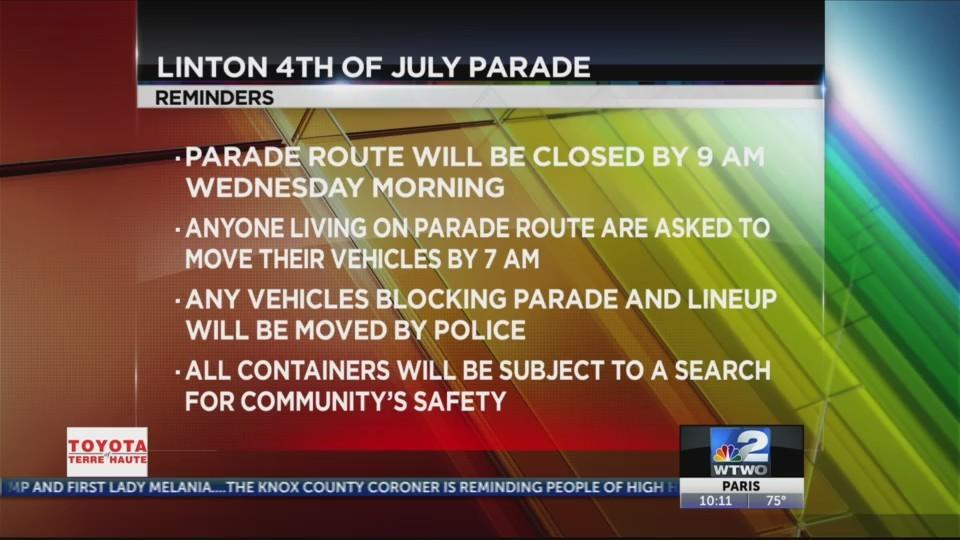 Linton Parade