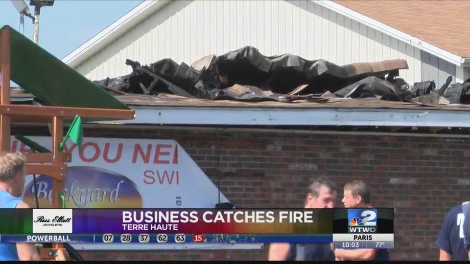 News Information on Backyard Fire