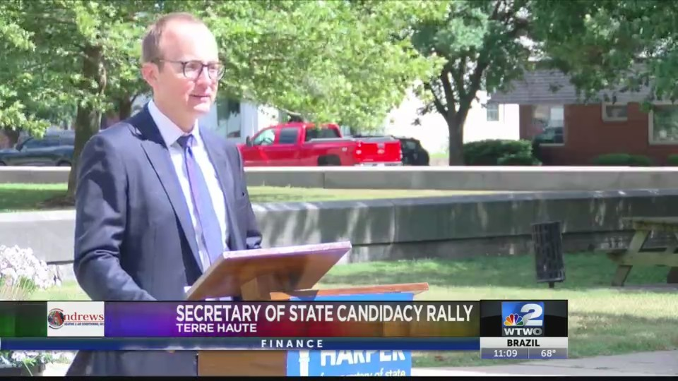 Secretary of State Candidacy Rally