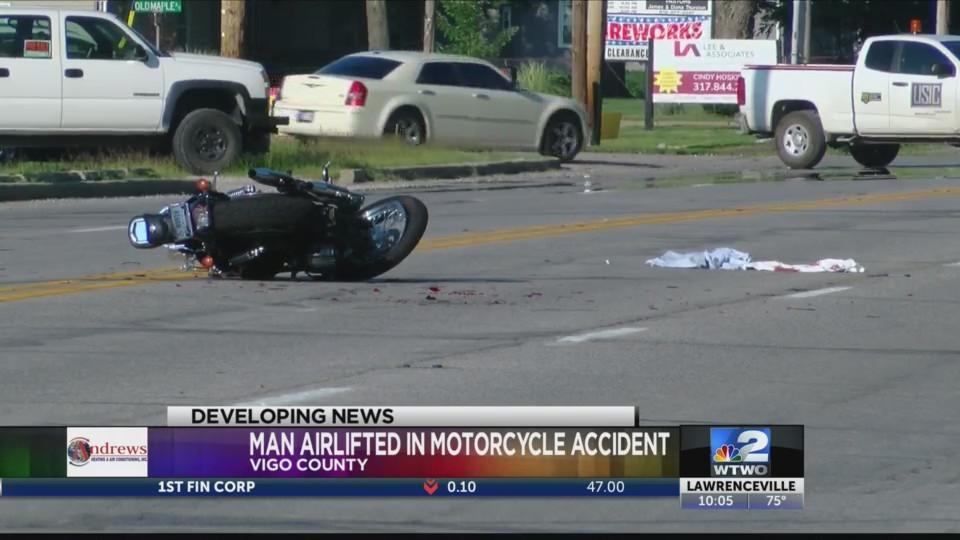 Wabash Ave Motorcycle Accident