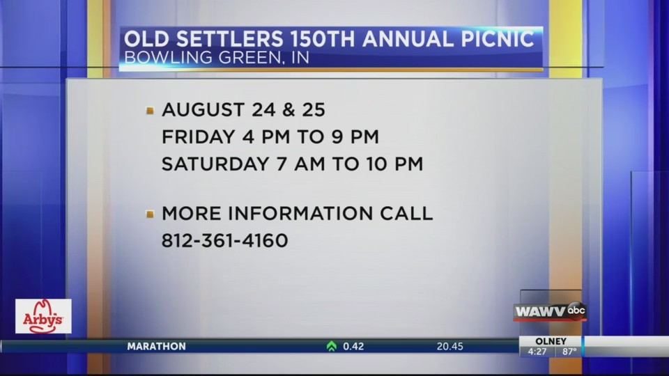 Old Settler's 150th Annual Reunion