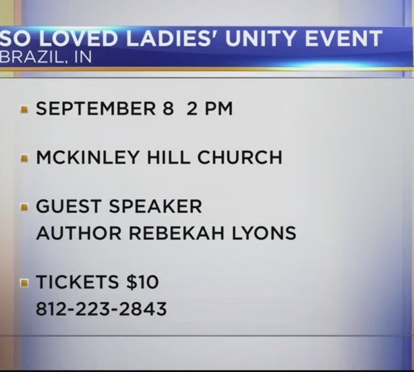 So Loved Ladies' Unity and Freedom Event