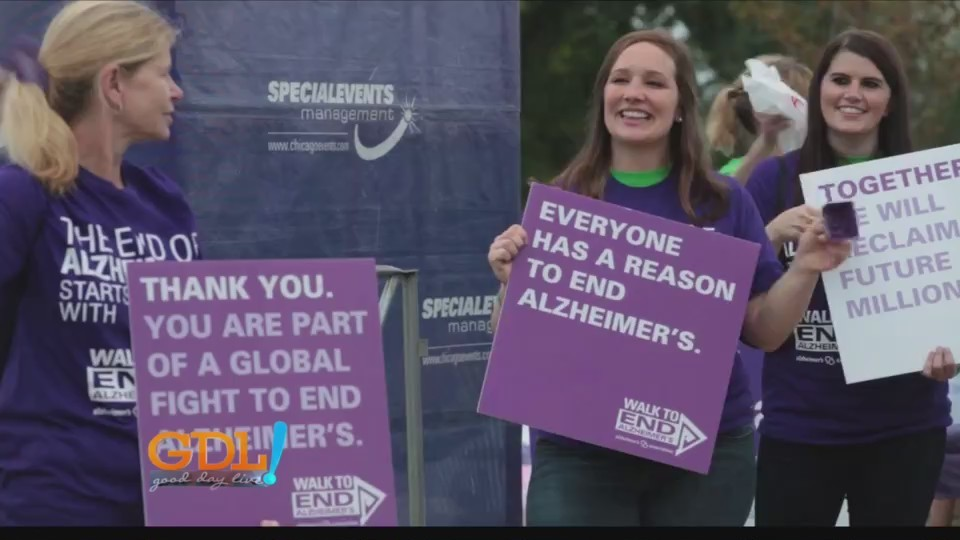 Good Day Live, Walk To End Alzheimer's