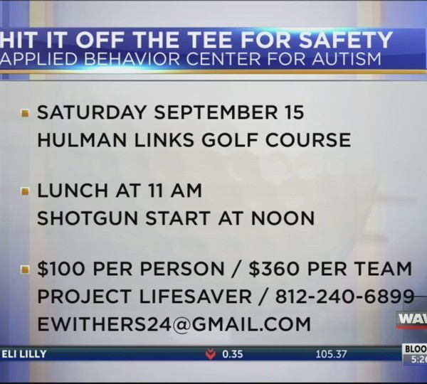 Live at Five Autism Golf Outing 09/06/18