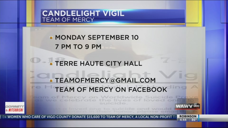 Team of Mercy Candle Vigil 09/06/18