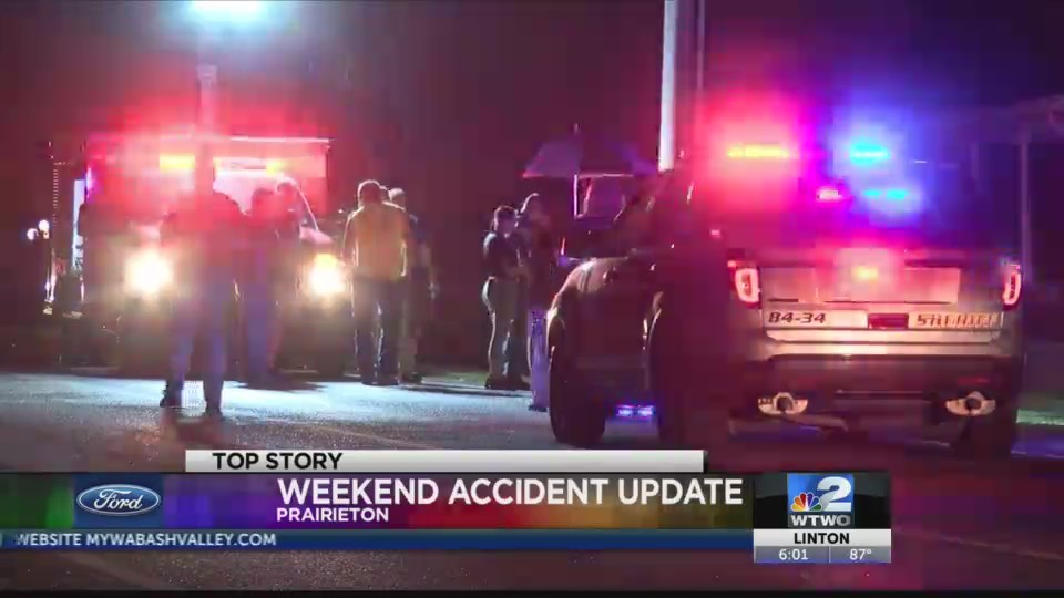 Weekend Accident Update