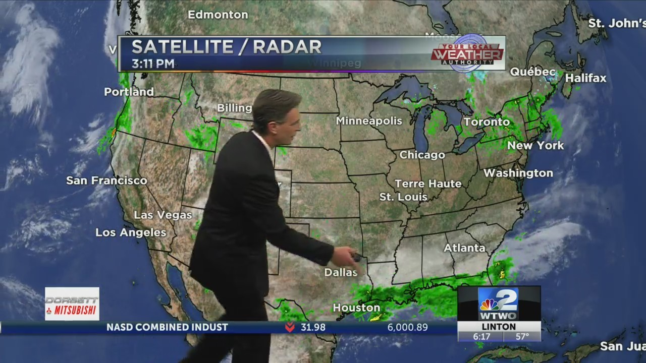6pm Weather 10-23-18