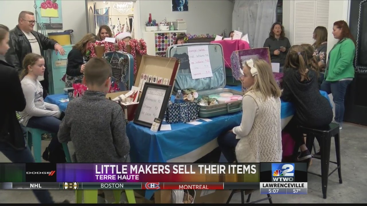 Little Makers Sell their Items