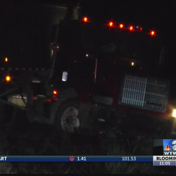 Semi Accident in Sullivan County