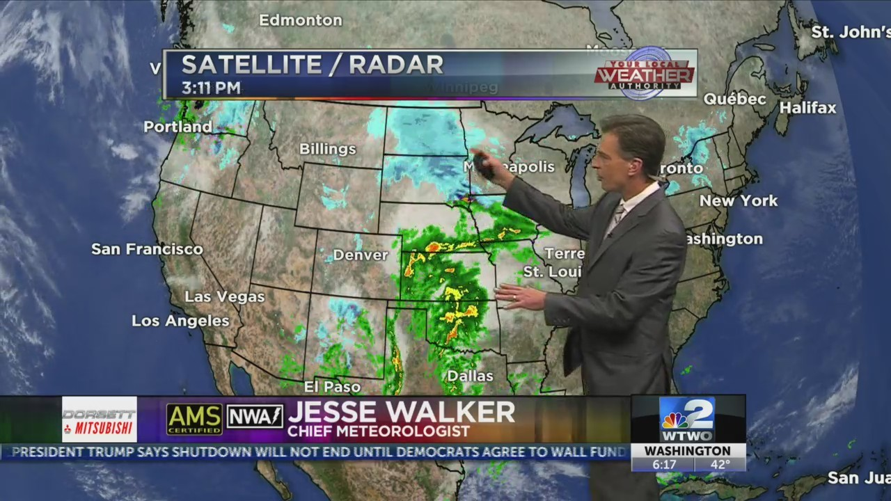 6pm Weather 12-26-18