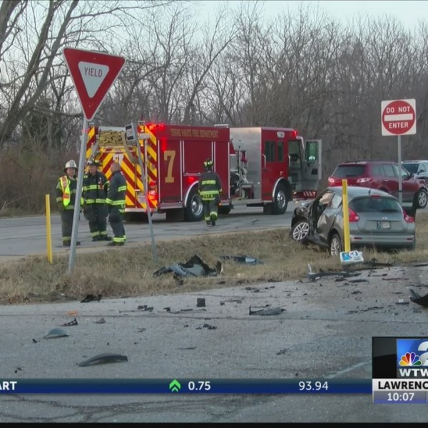 Accident at U.S. 41 and Hawthorne