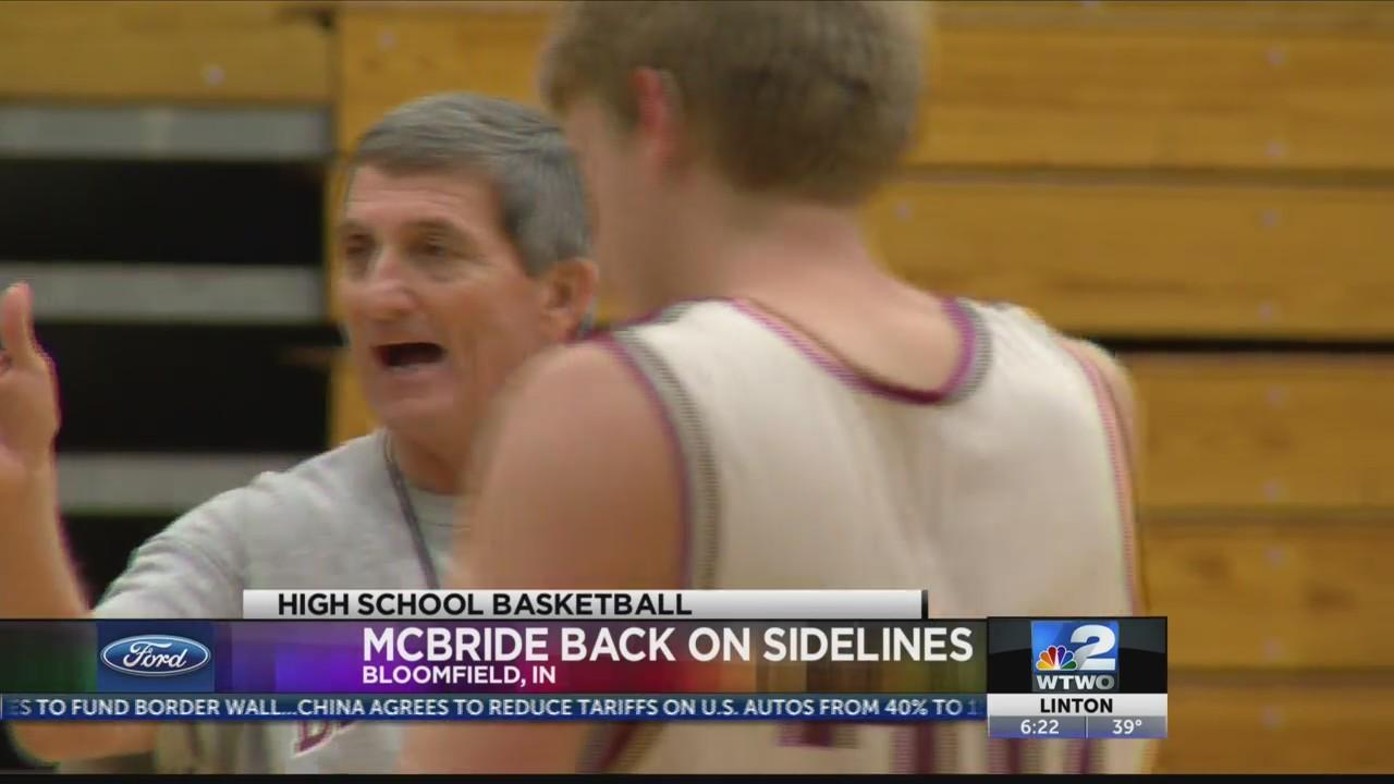 McBride Back in Bloomfield