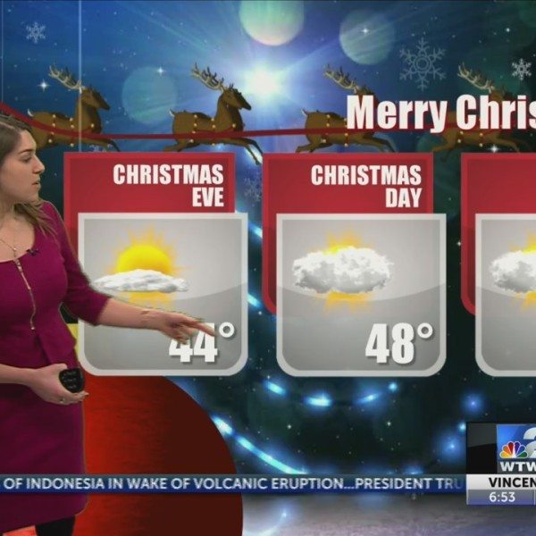 christmas eve wx