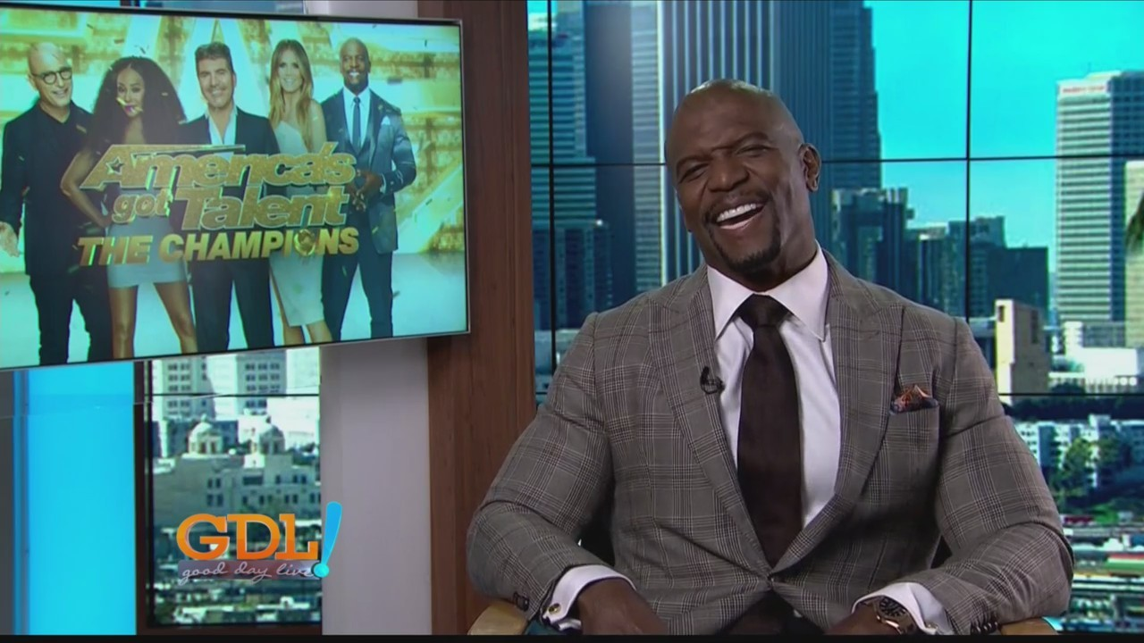 Good Day Live. Terry Crews