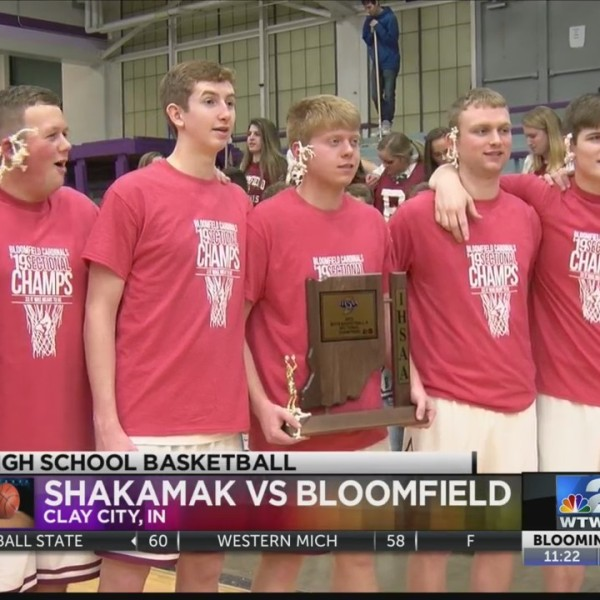 Bloomfield Wins Sectional