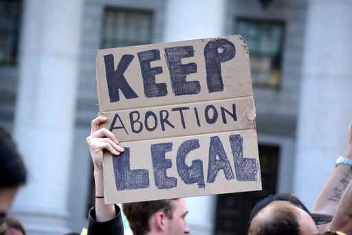 People protesting new, strict abortion laws sweeping parts of th_1558990552194