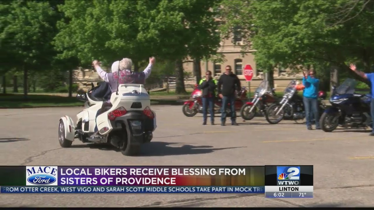 Bikers, brunch and blessings at Sisters of Providence