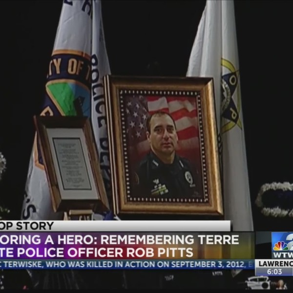 Honoring Officer Pitts