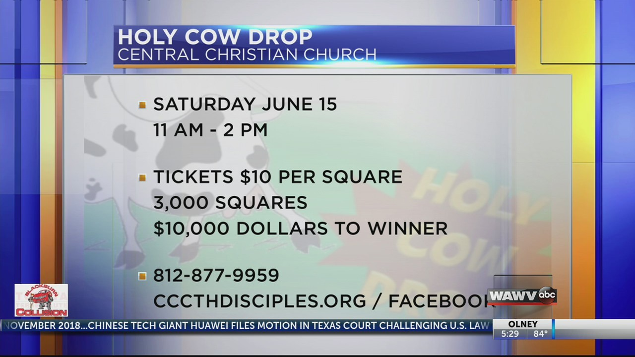 Live at 5: Holy Cow Drop