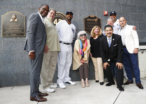 Tree Sequoia, CC Sabathia, Jean Afterman, Kurt Kelly, Brin Cashman, Dellin Betances